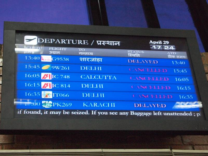 飛行機が天候不良でキャンセル! トラブルへの心構えについて