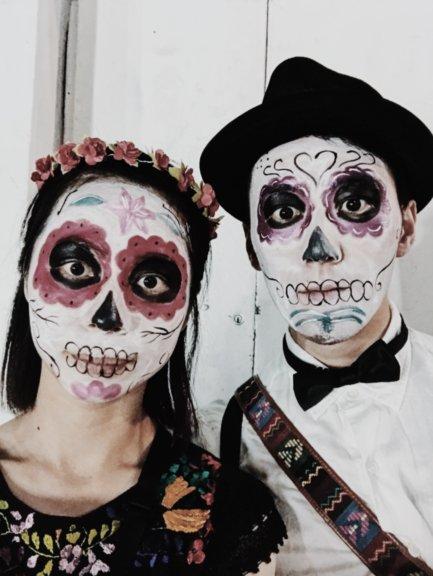 メキシコ『死者の日』に骸骨メイクをして参加した結果!【グアナファト】